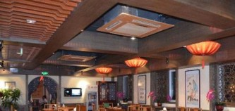 LED透明屏在餐厅中的应用优势多